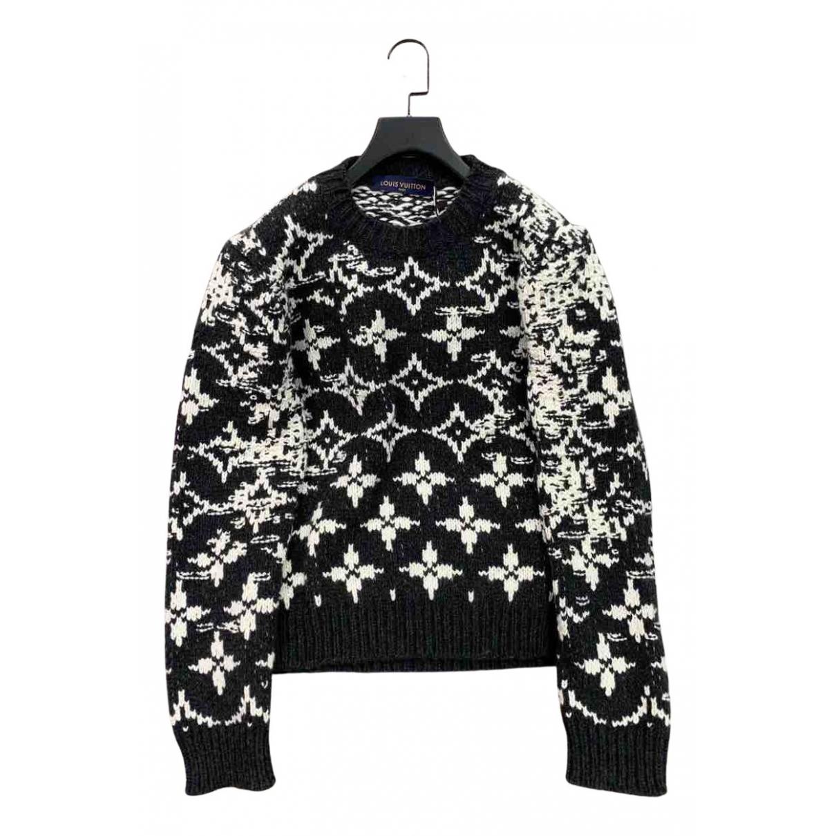 Louis Vuitton \N Top in  Schwarz Wolle