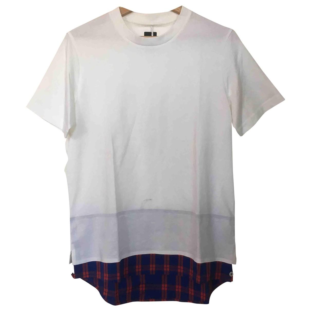Oamc \N White Cotton T-shirts for Men XS International