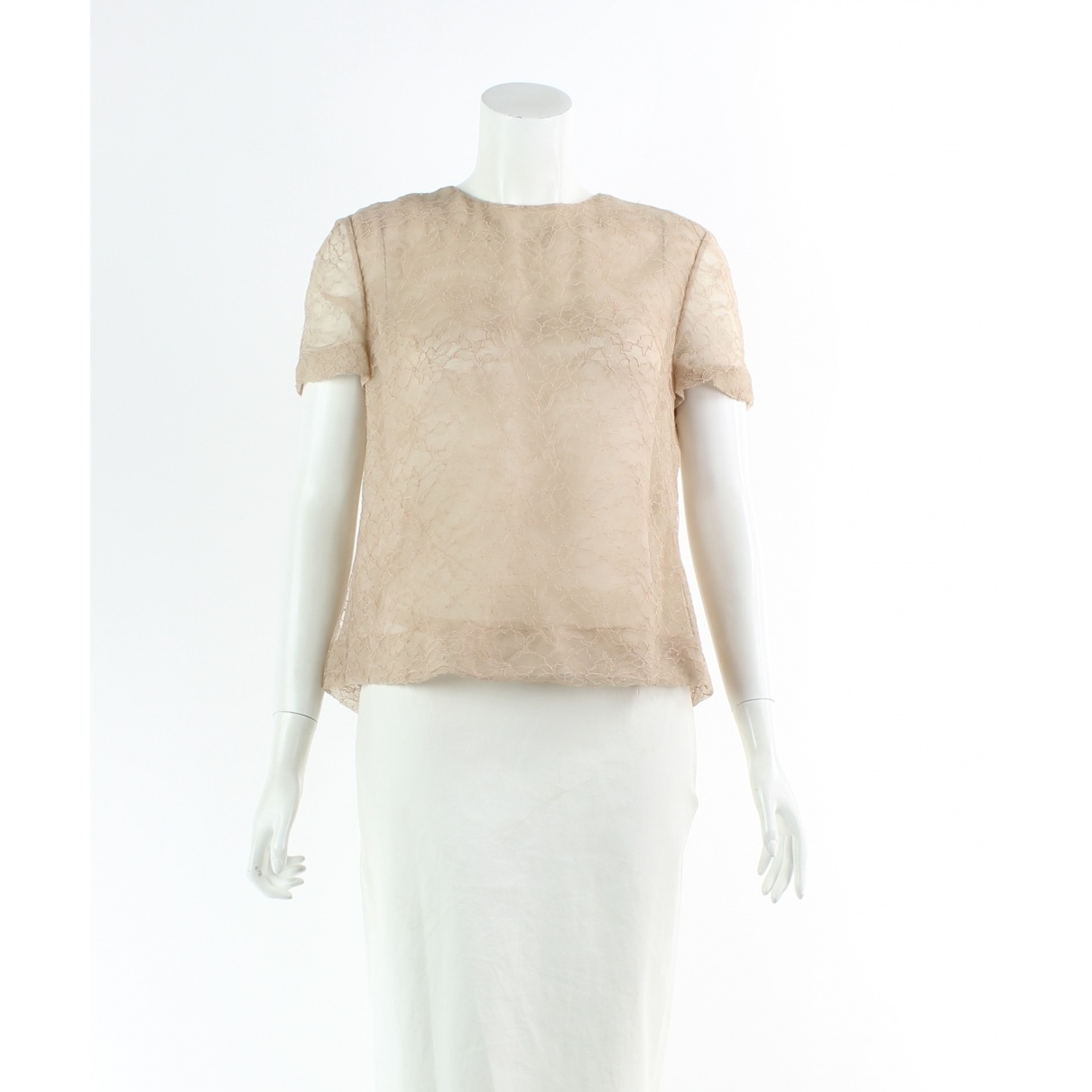 Chloé \N Beige  top for Women 38 FR