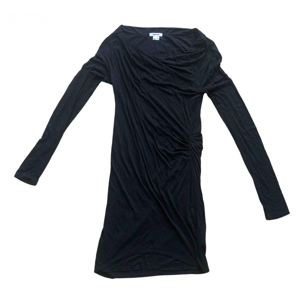Helmut Lang N Black Cotton - elasthane dress for Women M International