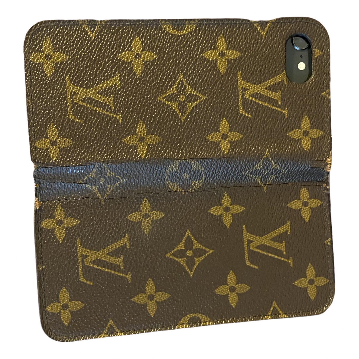 Louis Vuitton \N Brown Cloth Accessories for Life & Living \N