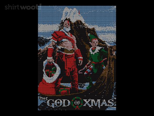 God Of Xmas T Shirt