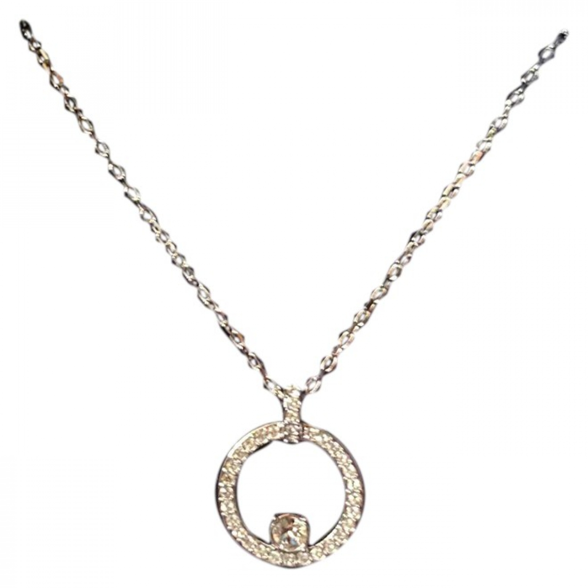 Swarovski \N Kette in  Silber Silber