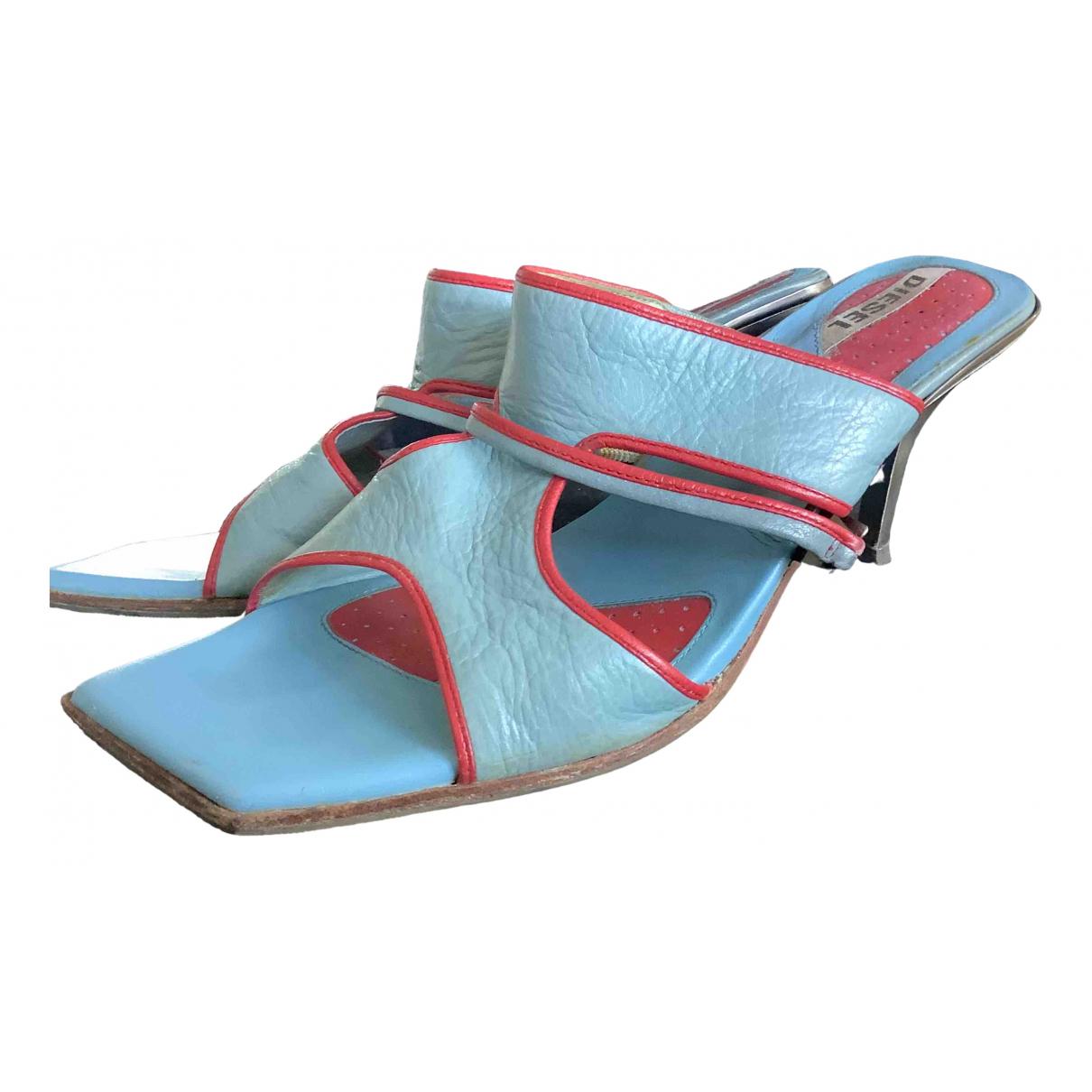 Diesel \N Multicolour Leather Sandals for Women 37 EU