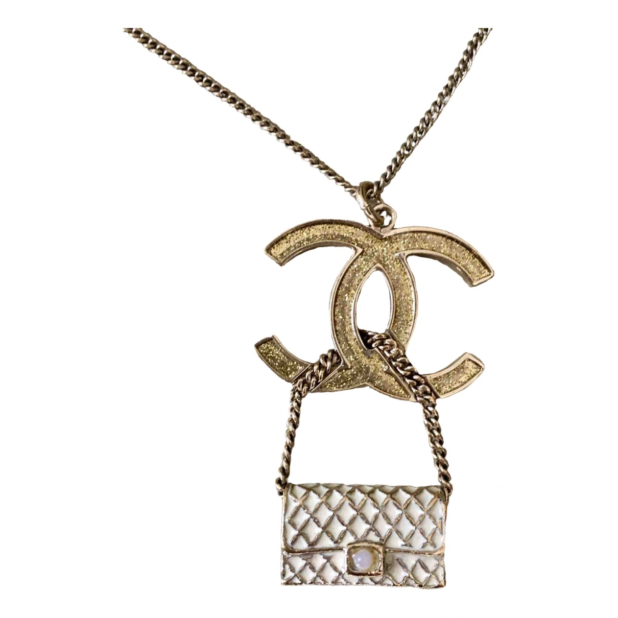 Chanel CC Metal Long necklace for Women \N