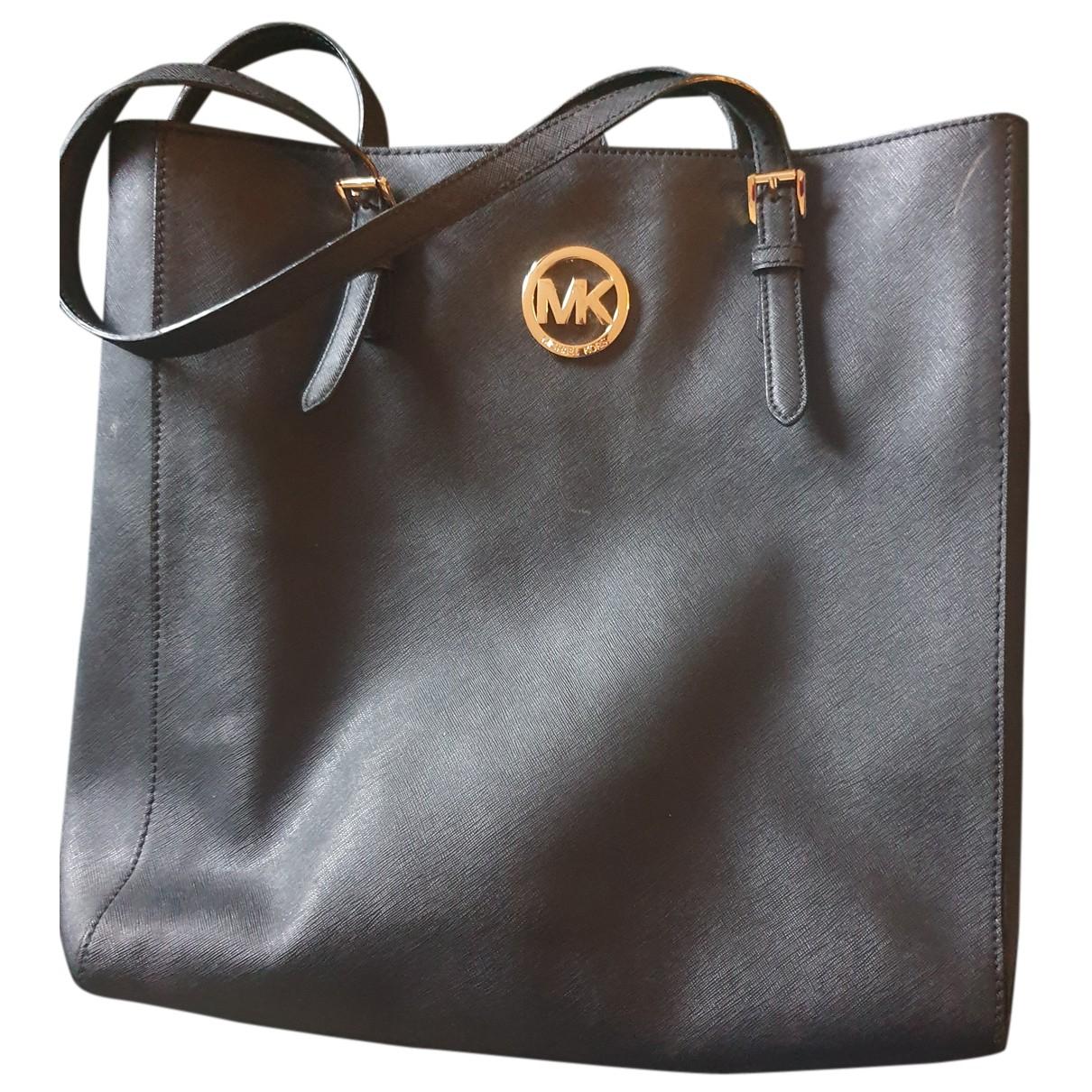 Michael Kors Adele Black Leather handbag for Women N