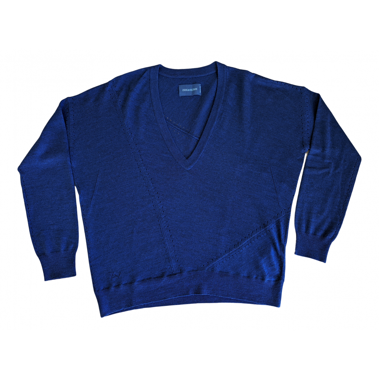 Zadig & Voltaire \N Pullover in  Blau Wolle
