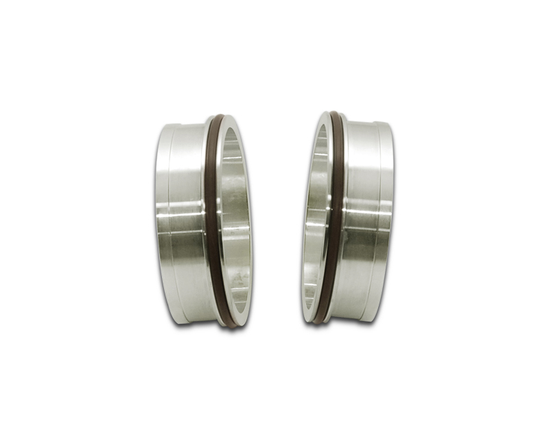 Vibrant Performance 12556 Stainless Steel Weld-On HD Clamp Fittings with O-Rings for 3