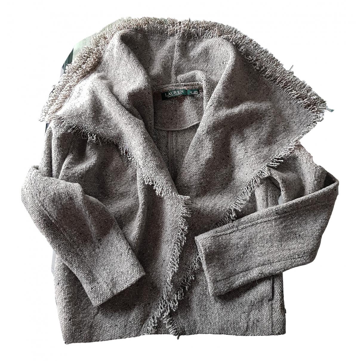 Lauren Ralph Lauren - Veste   pour femme en laine - gris