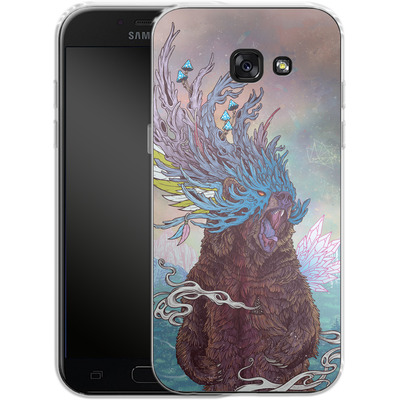 Samsung Galaxy A5 (2017) Silikon Handyhuelle - Journeying Spirit - Bear von Mat Miller