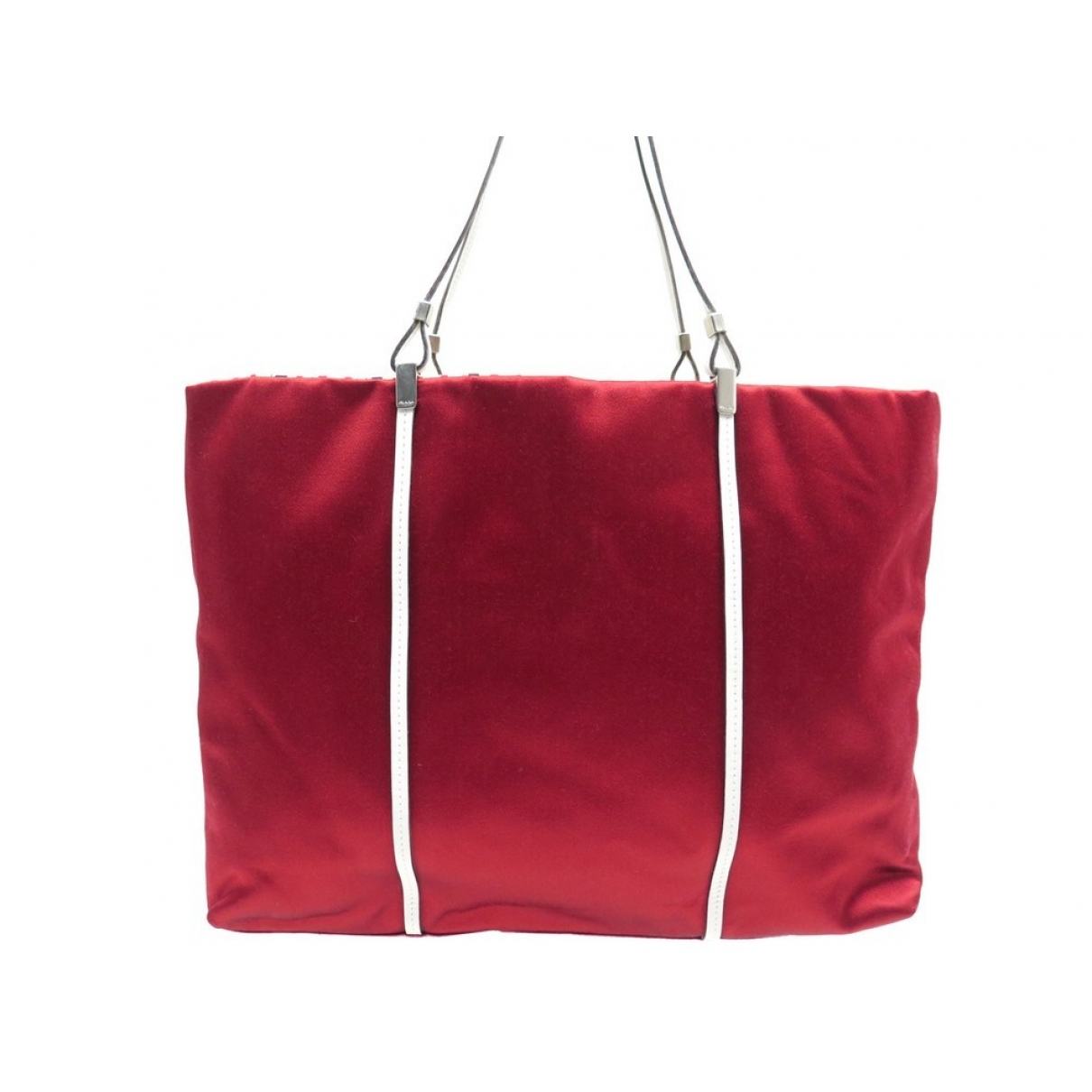 Prada \N Red Cloth handbag for Women \N