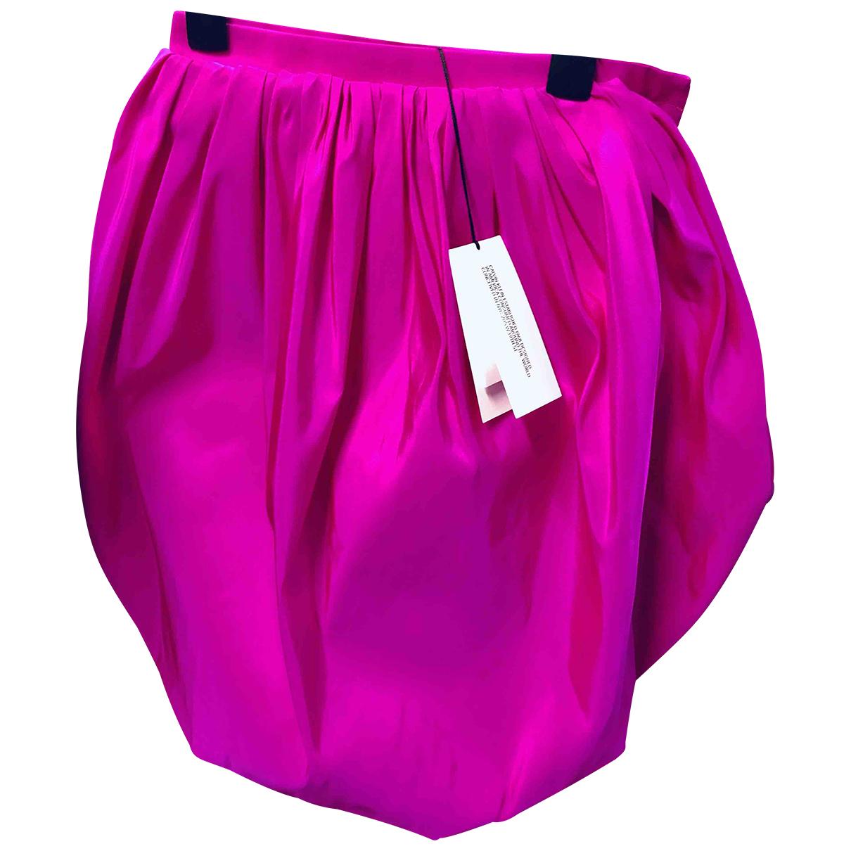 Calvin Klein 205w39nyc - Jupe   pour femme en soie - rose