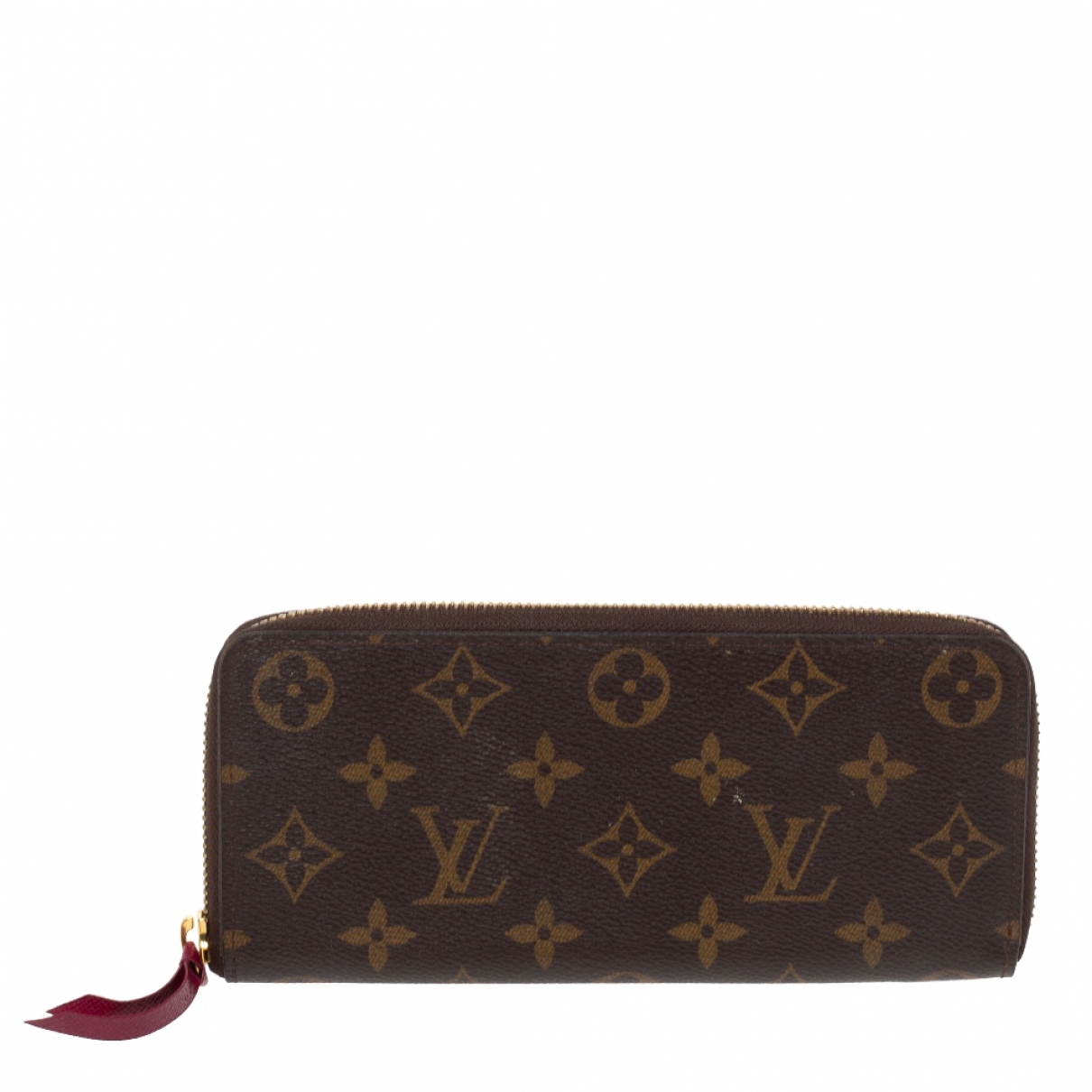 Louis Vuitton Clemence Brown Leather wallet for Women N