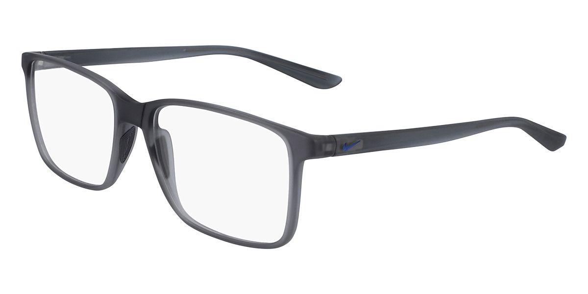 Nike 7033 064 Men's Glasses Grey Size 55 - Free Lenses - HSA/FSA Insurance - Blue Light Block Available