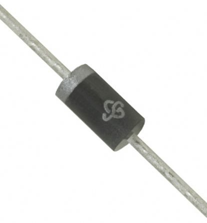 Vishay 200V 1.5A, Silicon Junction Diode, 2-Pin DO-204AC GP15D-E3/54 (50)