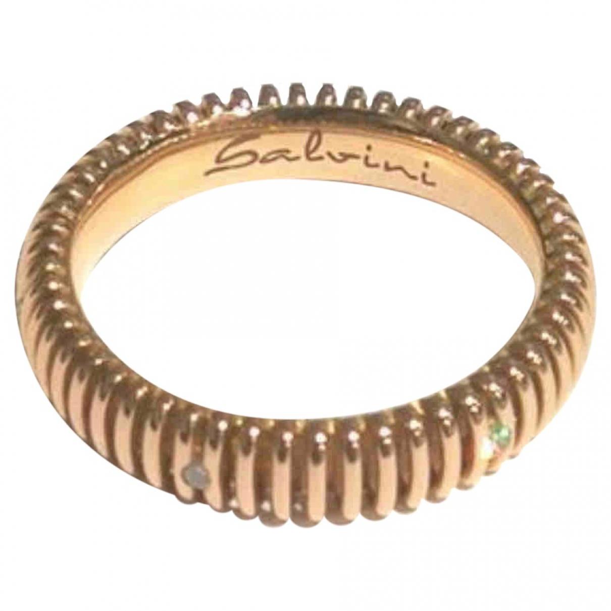 Salvini \N Ring in  Gold Rosegold
