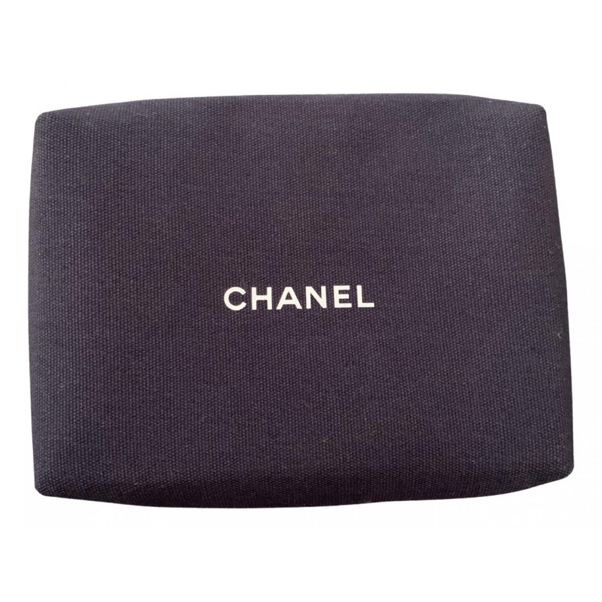 Chanel - Pochette   pour femme en toile - marine