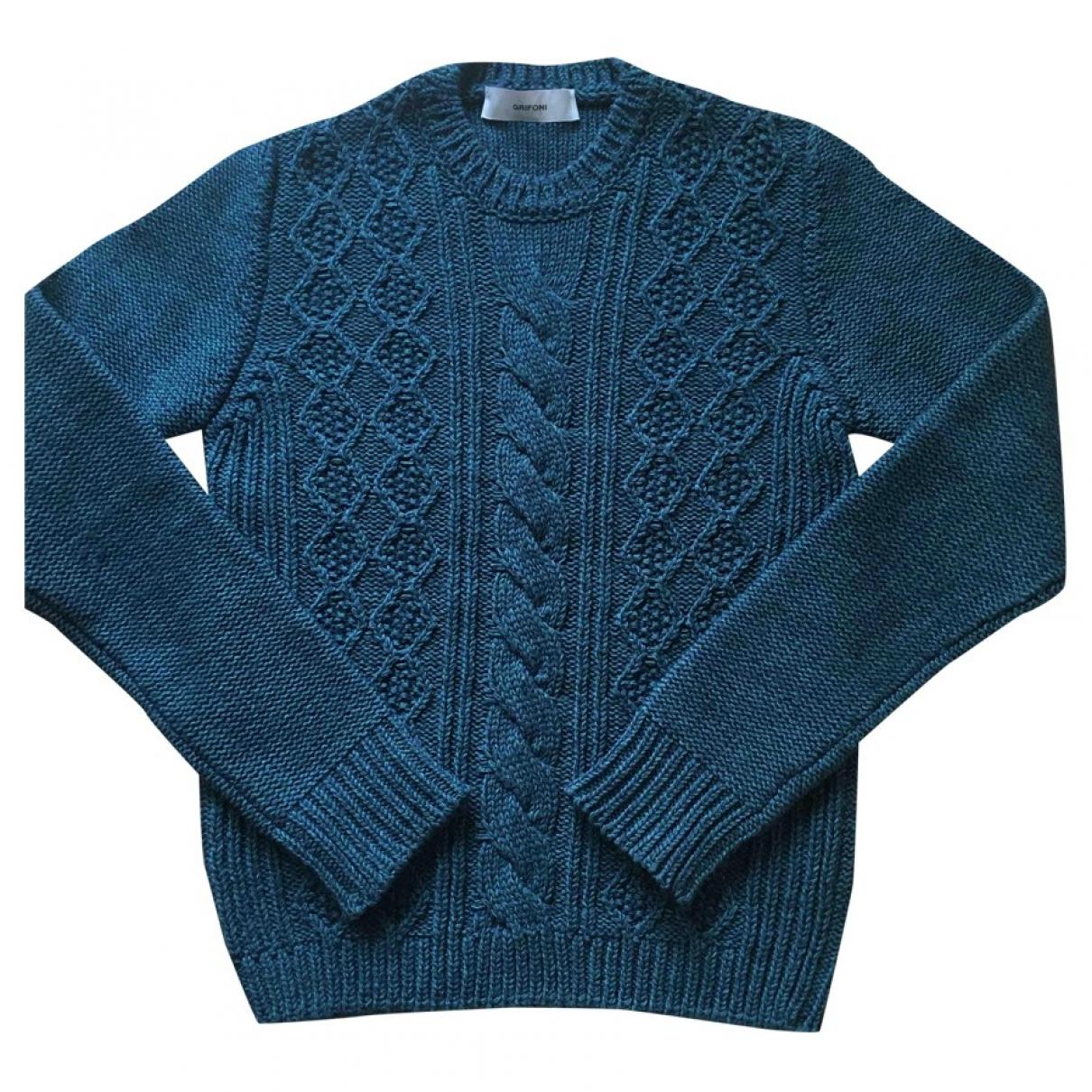 Mauro Grifoni \N Green Wool Knitwear for Women 42 IT