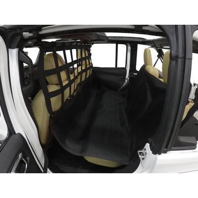 DirtyDog 4x4 Pet Divider with Hammock and Door Protectors (Black) - JL4PH18HBK