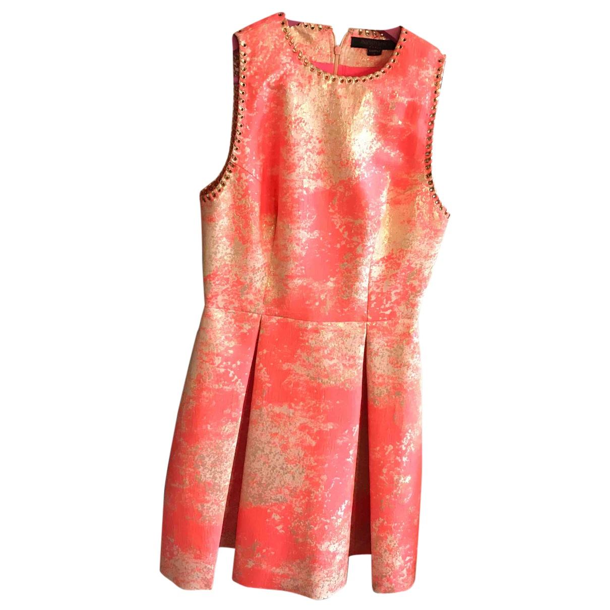 Manish Arora \N Kleid in  Gold Viskose