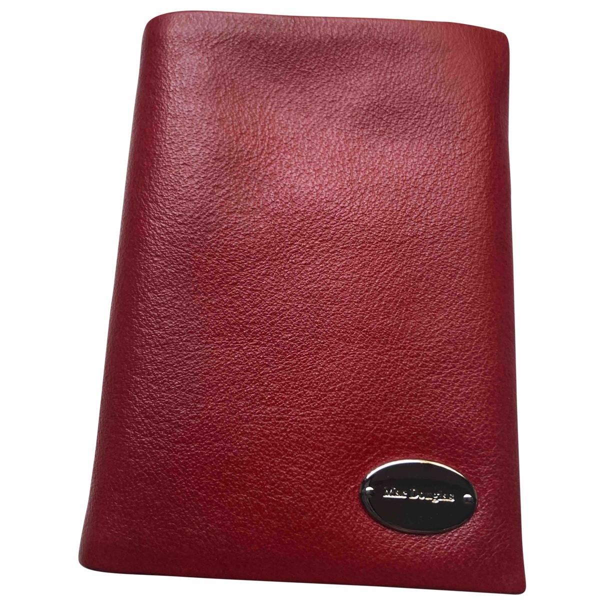 Mac Douglas - Portefeuille   pour femme en cuir - rouge