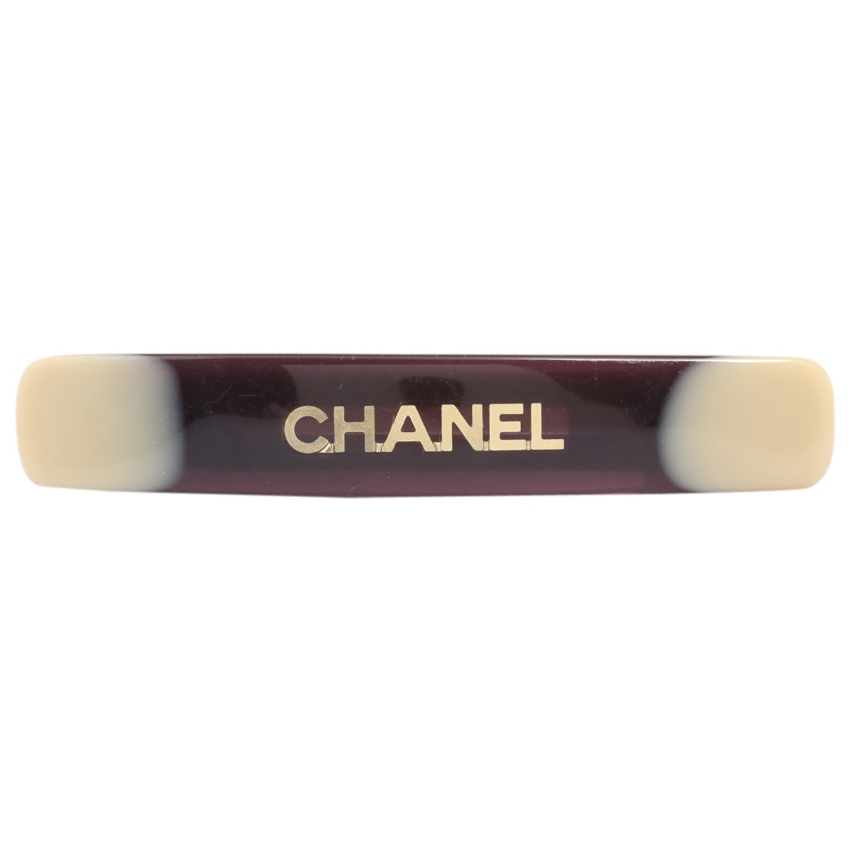 Chanel \N Haarschmuck in  Braun Metall