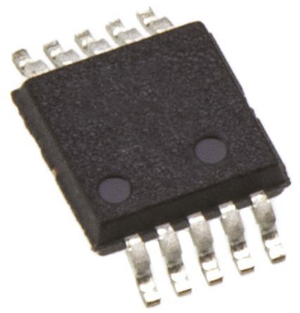 Analog Devices AD5663RBRMZ-3, 2-Channel DAC, 10-Pin MSOP (50)