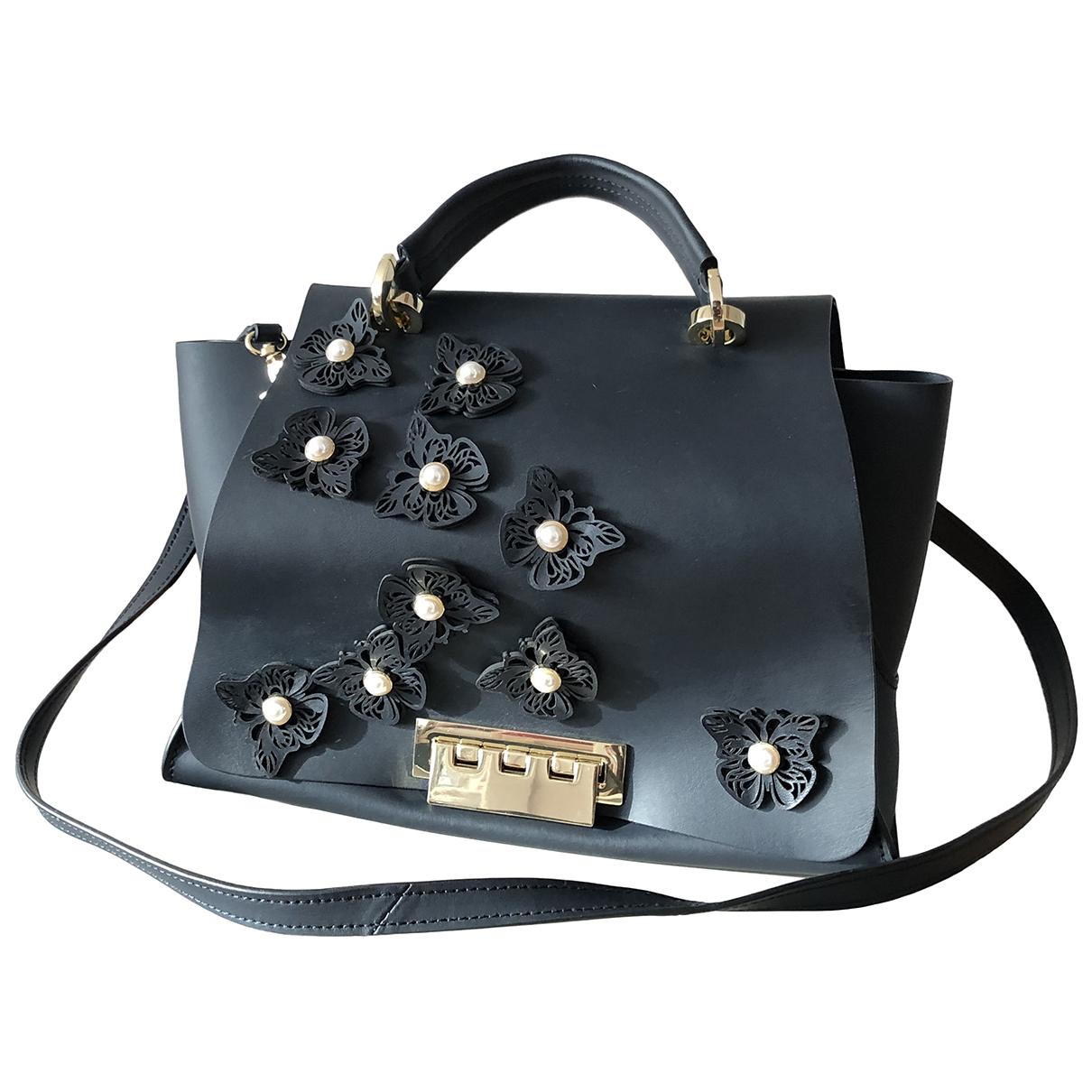 Zac Posen \N Navy Leather handbag for Women \N