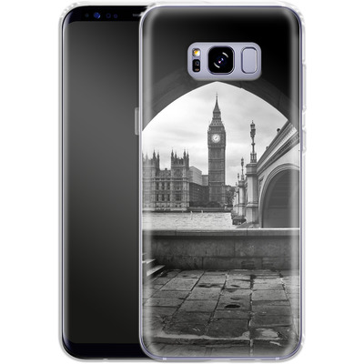 Samsung Galaxy S8 Plus Silikon Handyhuelle - Houses Of Parliament von Ronya Galka