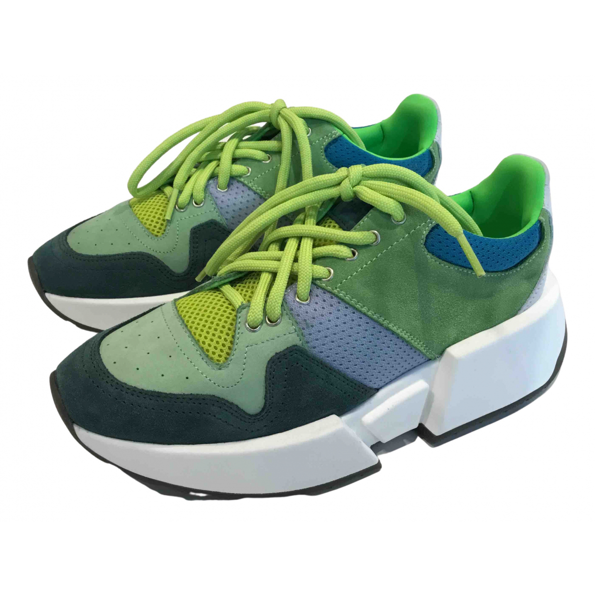 Mm6 N Green Trainers for Women 40 EU