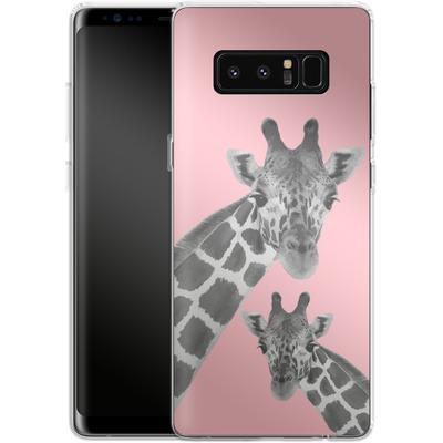 Samsung Galaxy Note 8 Silikon Handyhuelle - Giraffe Pride 2 von Mukta Lata Barua