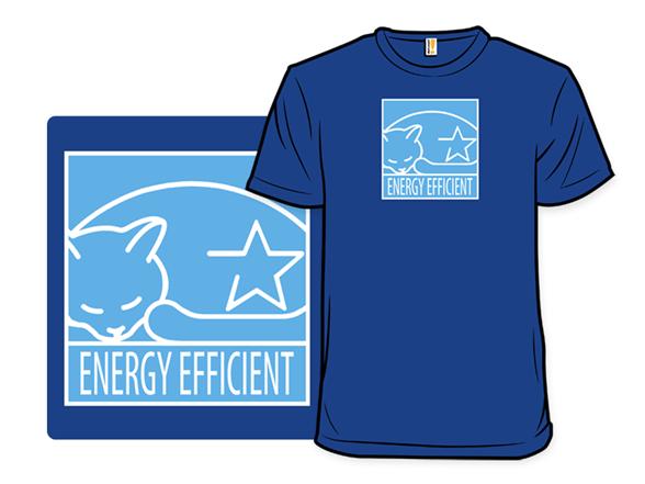 Energy Efficient Feline T Shirt