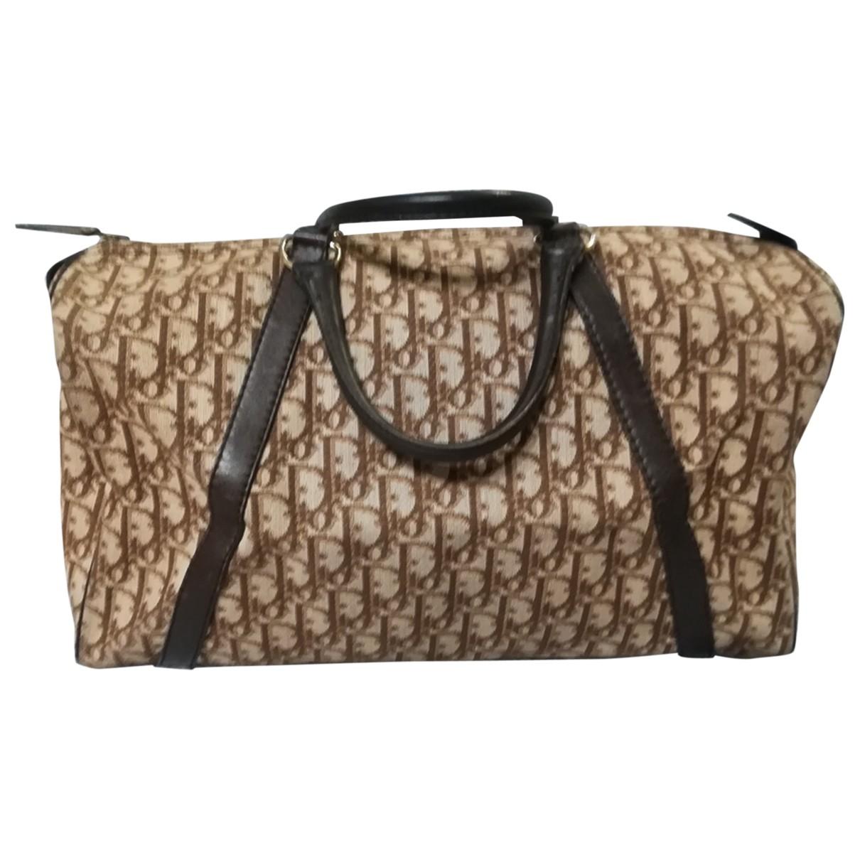Dior N Camel Cloth handbag for Women N