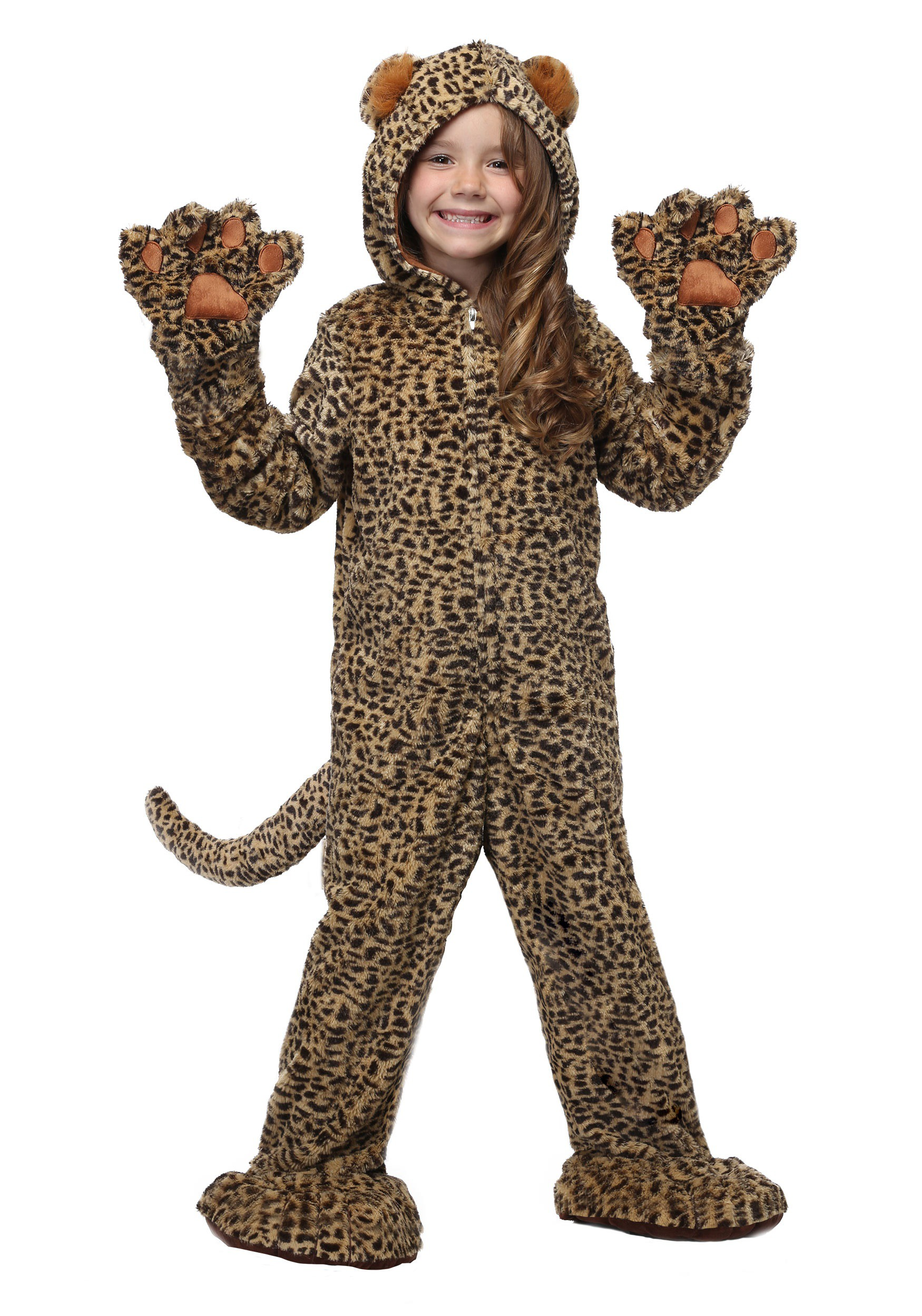 Premium Leopard Costume for Kids