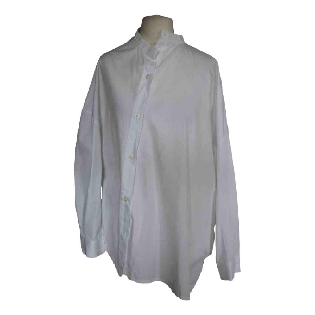 Toteme - Top Noma pour femme en coton - blanc