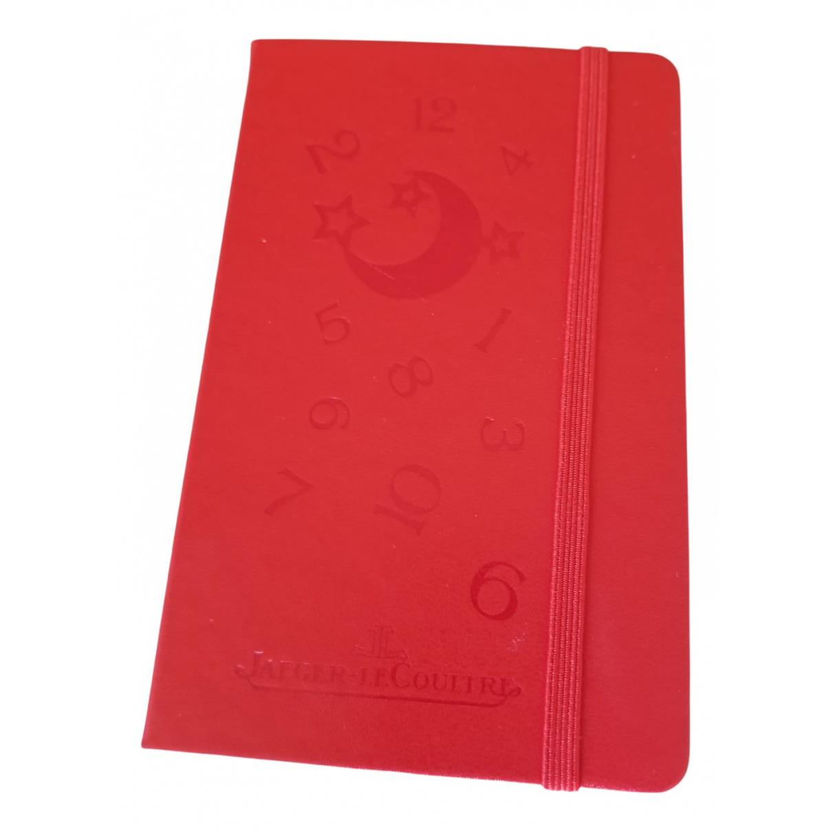 Jaeger-lecoultre - Objets & Deco   pour lifestyle en cuir - rouge