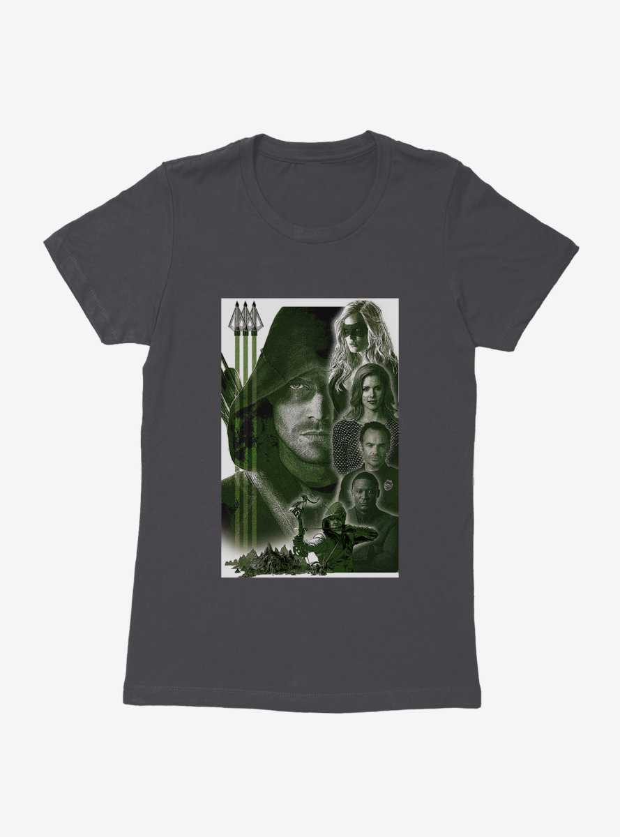 DC Comics Arrow Cast Womens T-Shirt
