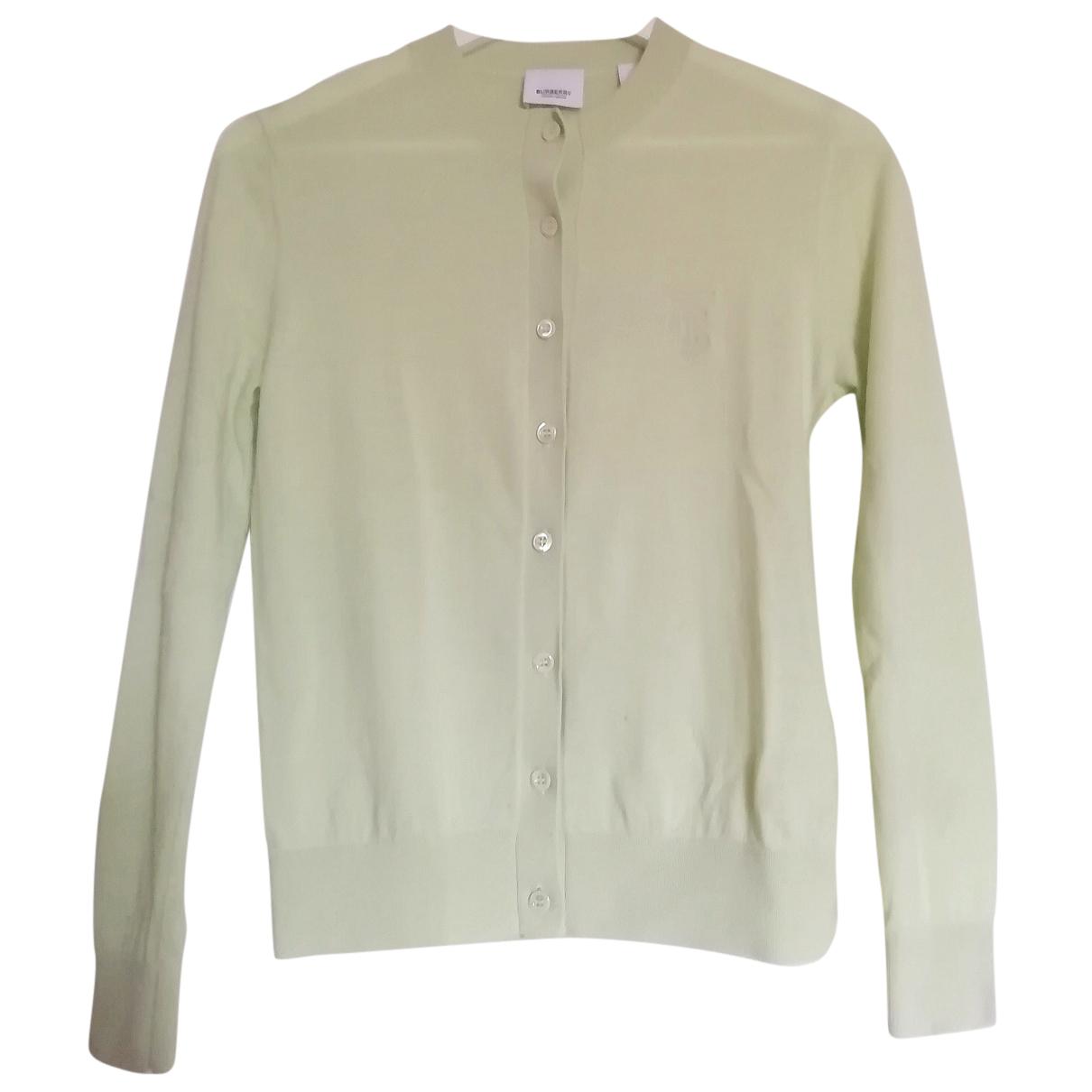 Burberry N Green Cashmere Knitwear for Women S International