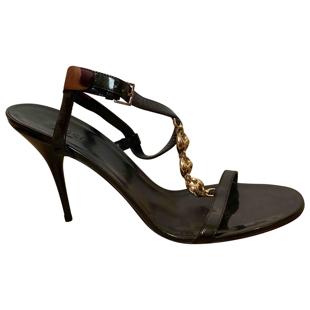 Sandalias de Charol Gucci