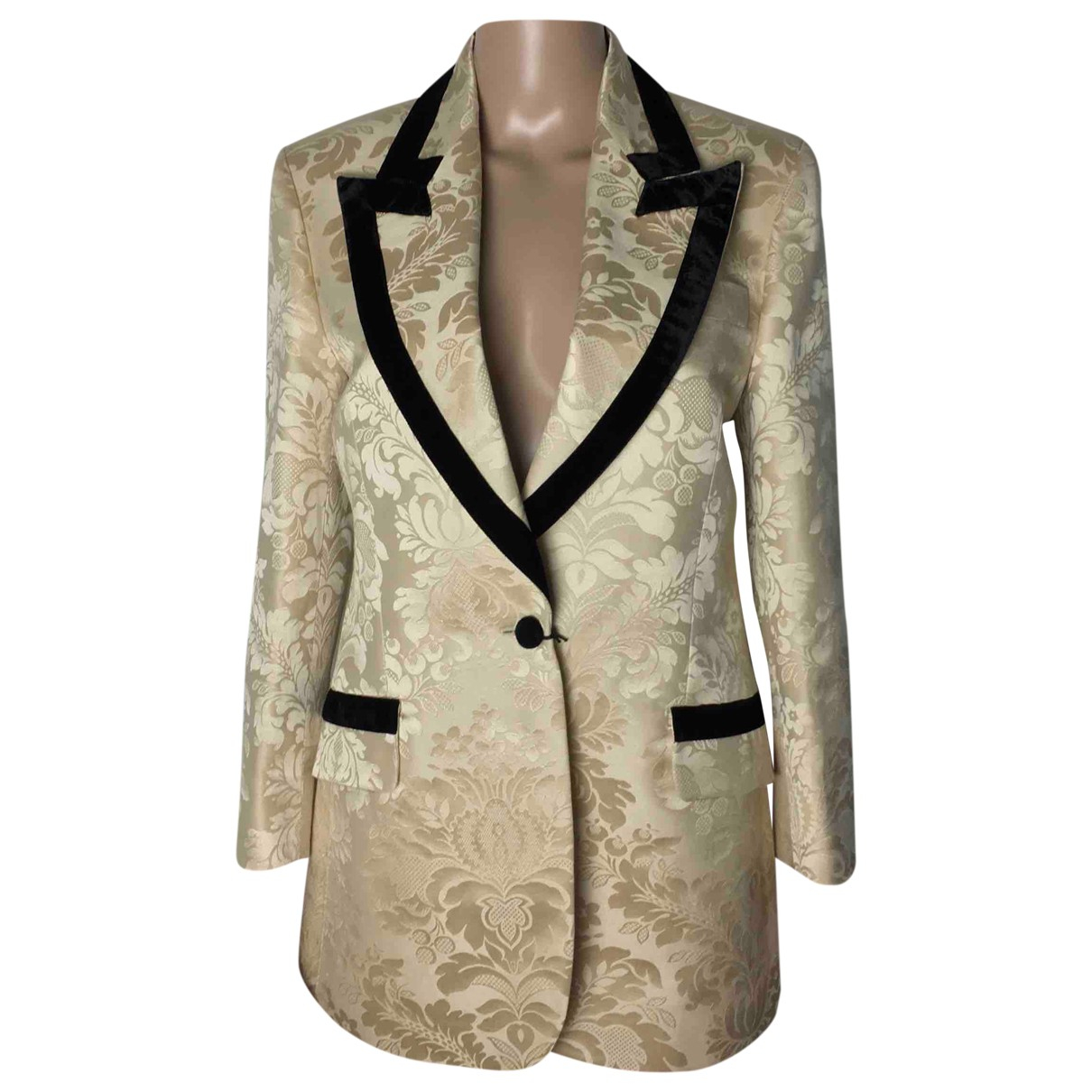 Gucci N Cotton jacket for Women 42 IT