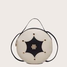 Bolsa con diamante de imitacion