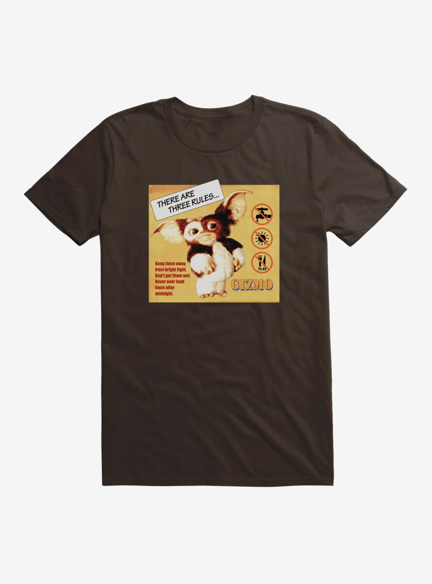 Gremlins Gizmo Rules T-Shirt
