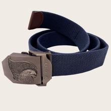 Cinturon de cinta de hombres grabado con animal