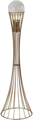 MU95F65BR Floor Lamp with 120 Voltage in Antique