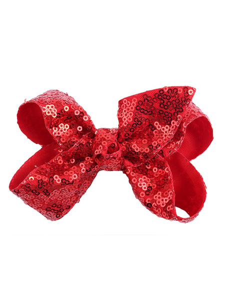 Milanoo Halloween Acessories Bow Barrettes Cosplay Costume