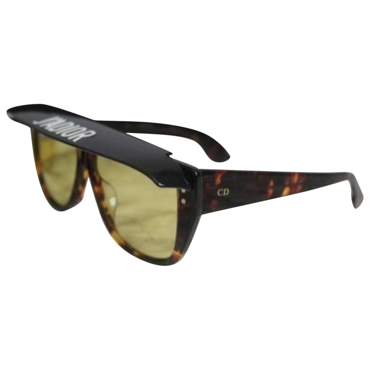Dior Diorclub2 Sonnenbrillen in  Braun Kunststoff