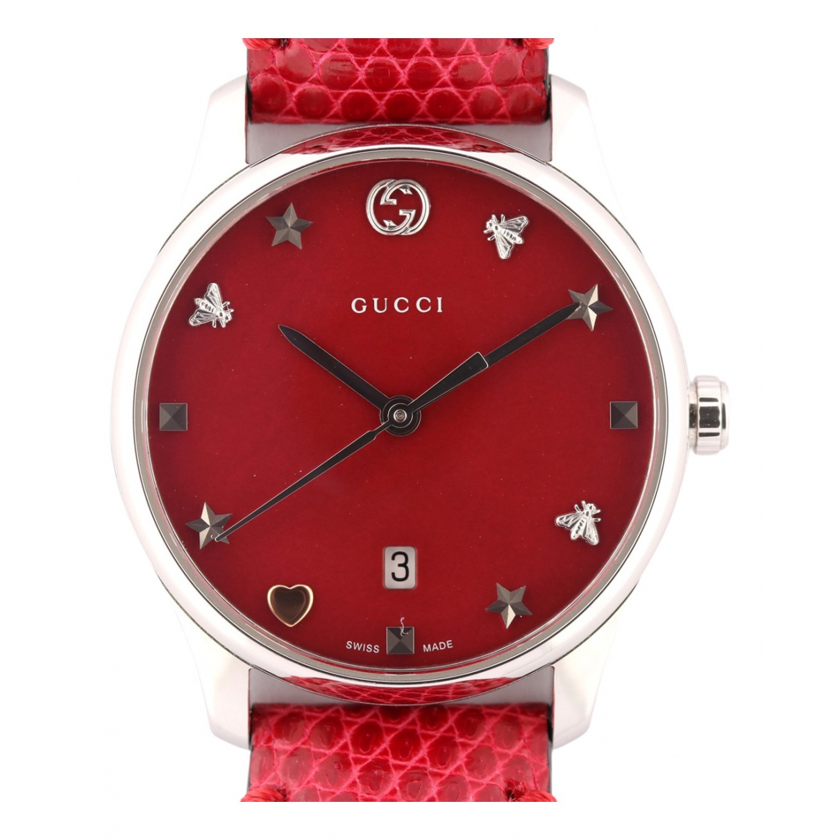 Gucci G-Timeless Steel watch for Men \N