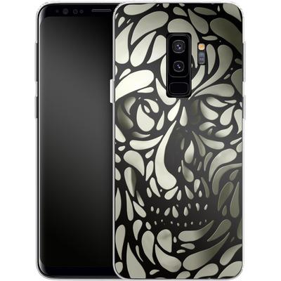 Samsung Galaxy S9 Plus Silikon Handyhuelle - Skull von Ali Gulec