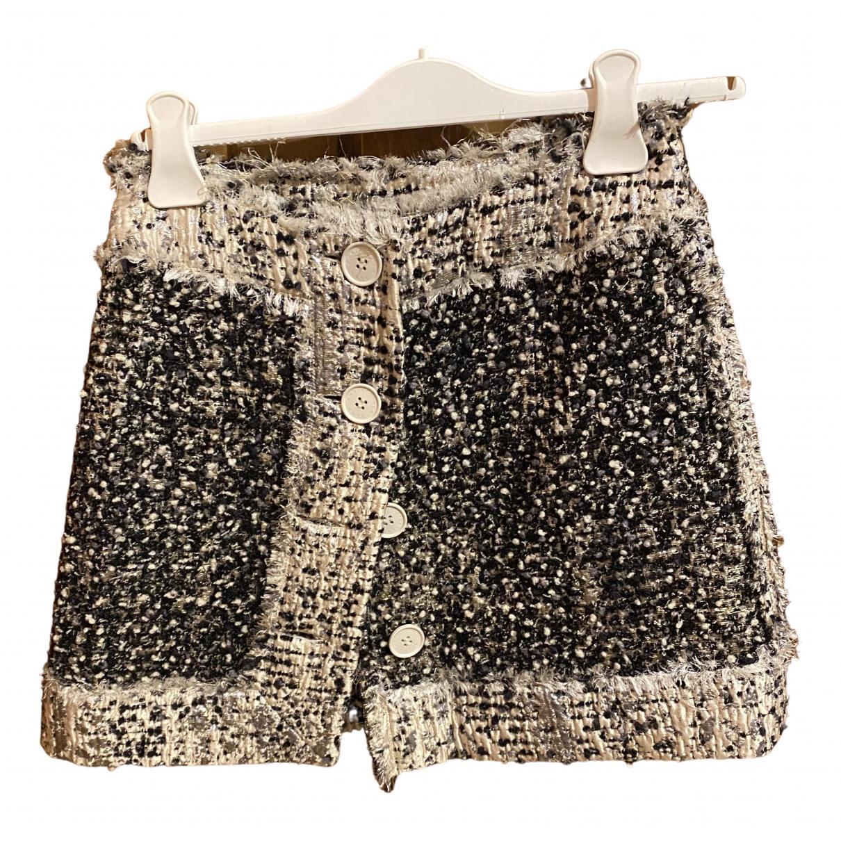Christopher Kane \N Multicolour Wool skirt for Women 40 IT