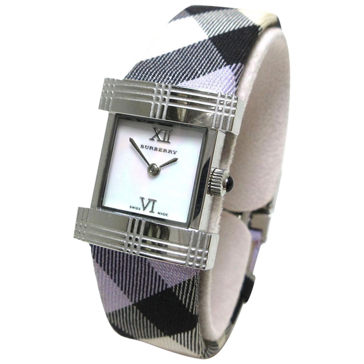 Burberry \N Steel watch for Women \N